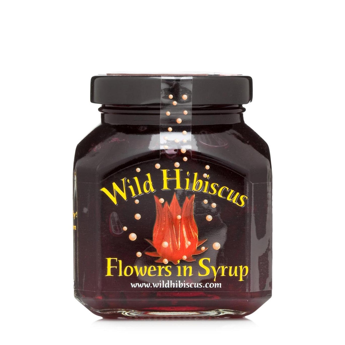 Wild Hibiscus Hibiscus Flowers In Syrup 250g Harvey Nichols