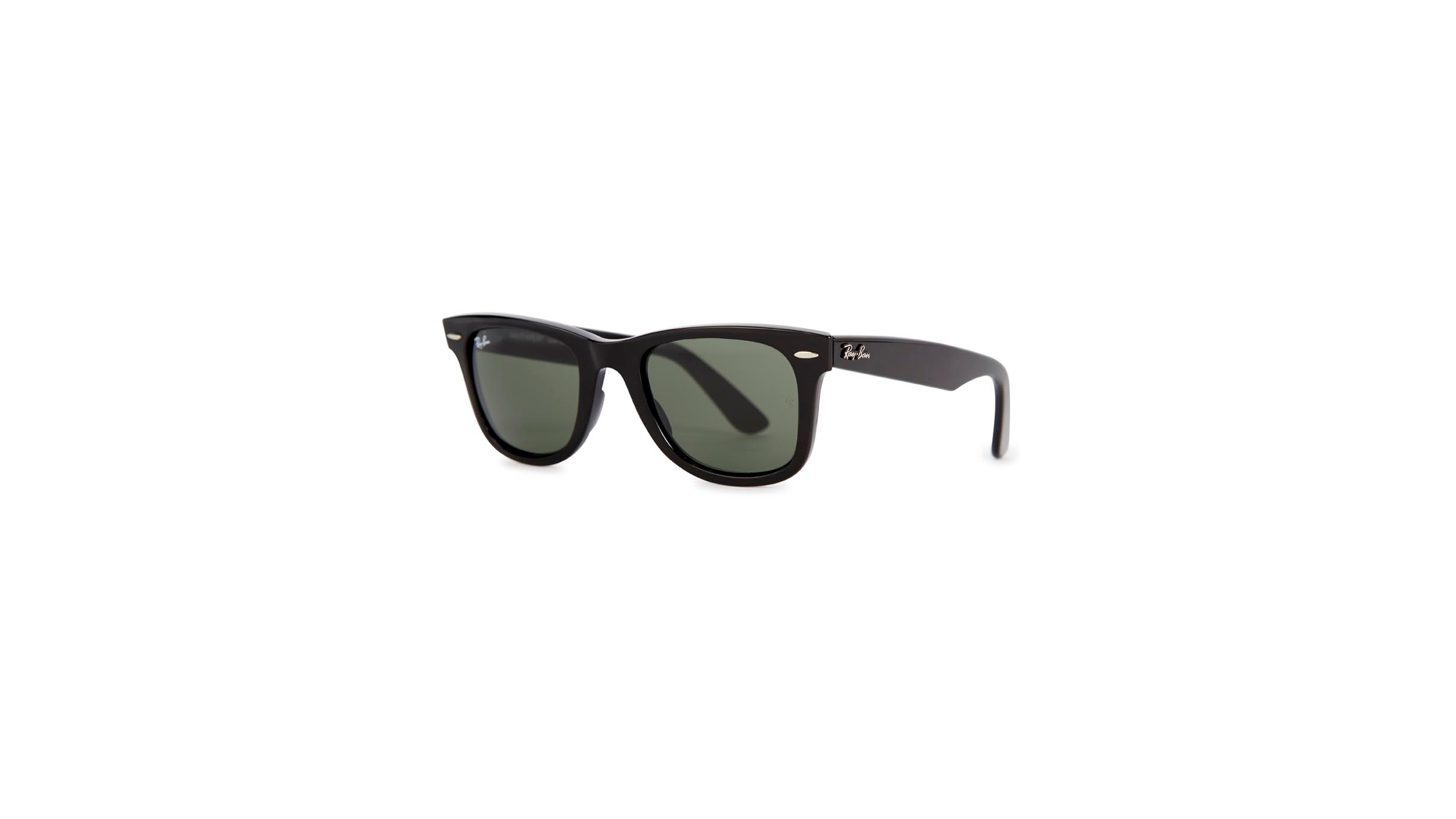 4071cfc6e7 Ray-Ban Wayfarer black sunglasses - Harvey Nichols