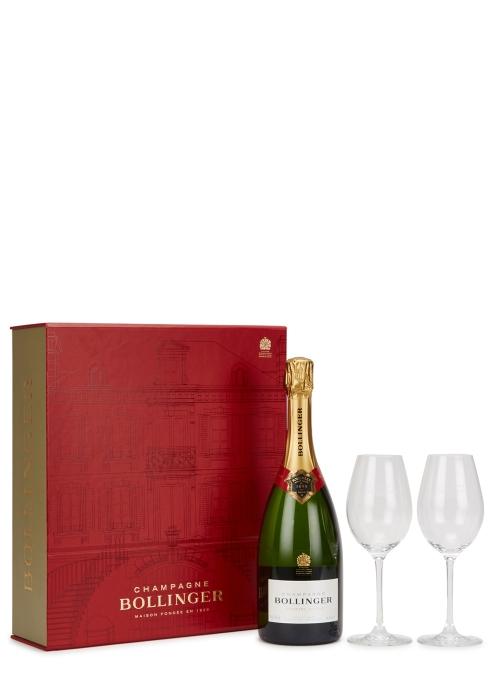 Champagne Gift Set (2 Flutes) - Bollinger