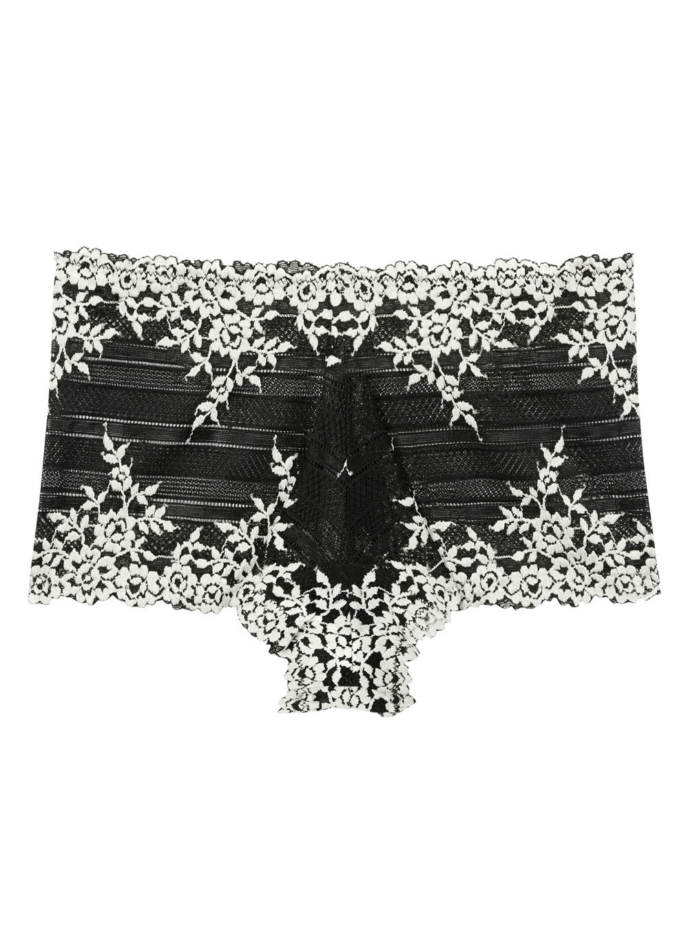 Embrace black lace briefs - Wacoal