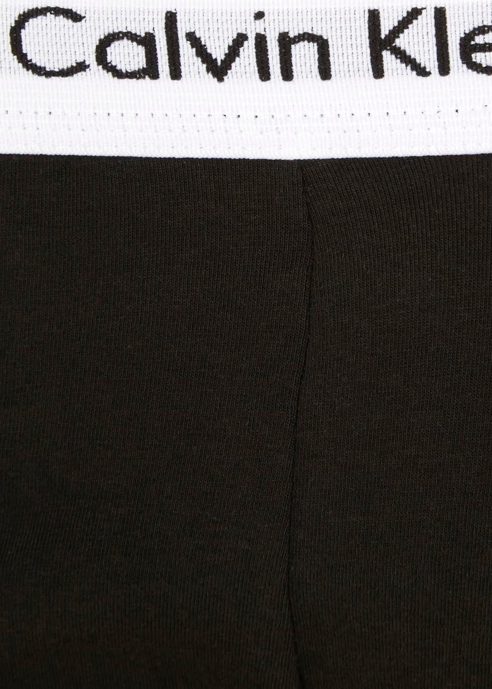 Black stretch cotton boxer briefs - set of three - Calvin Klein