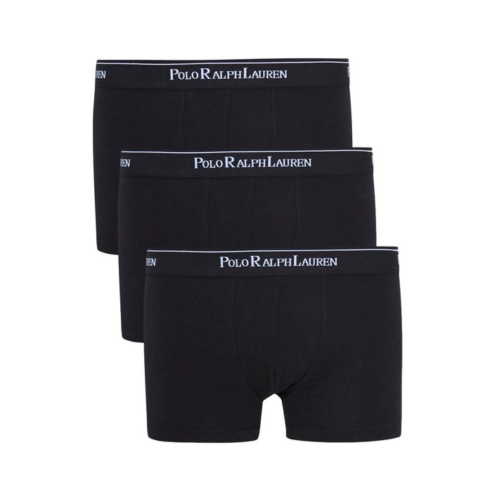 Polo Ralph Lauren Black Boxer Briefs - Set Of Three thumbnail