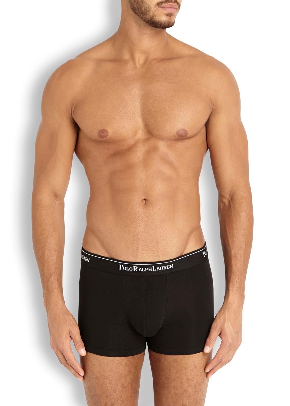 Black boxer briefs - set of three - Polo Ralph Lauren