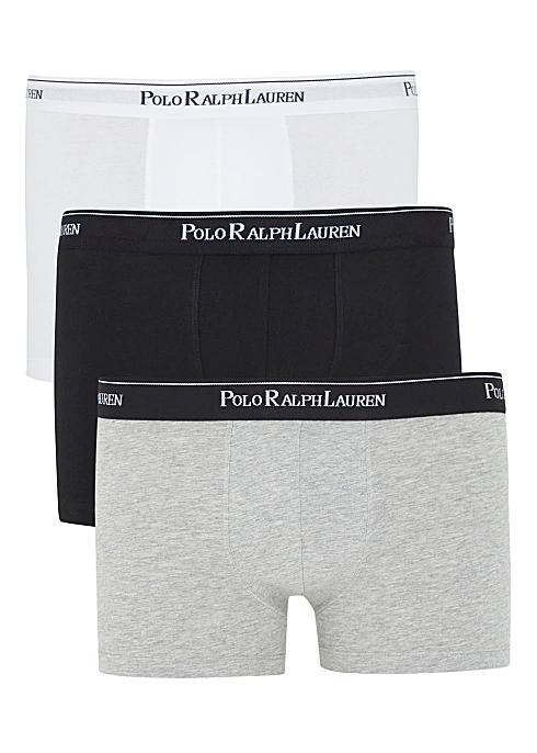 896c07464d88 Polo Ralph Lauren Stretch cotton boxer briefs - set of three ...