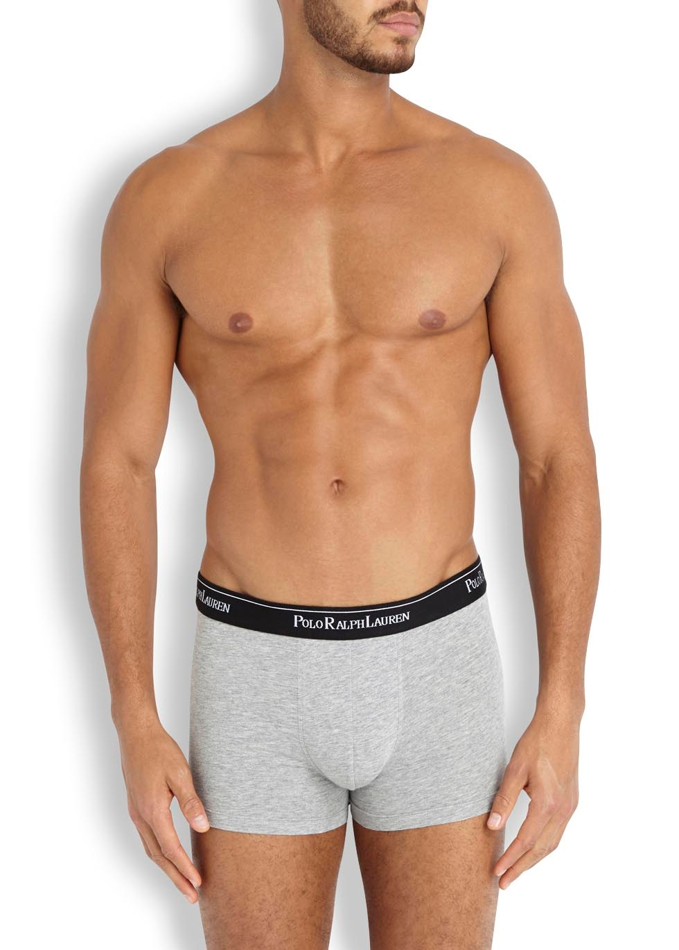 Stretch cotton boxer briefs - set of three - Polo Ralph Lauren