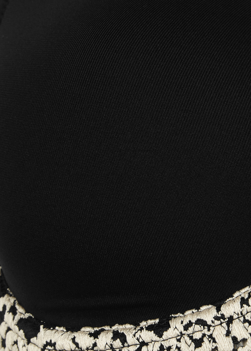 Embrace black contour bra - Wacoal