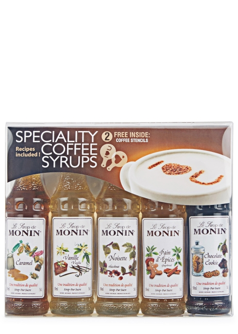 Flavoured Coffee Syrup Gift Set 5x5cl - Monin