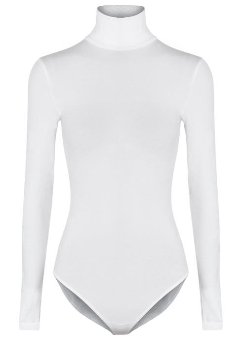 6b4f0549f1bf Wolford Colorado roll-neck cotton-blend bodysuit - Harvey Nichols