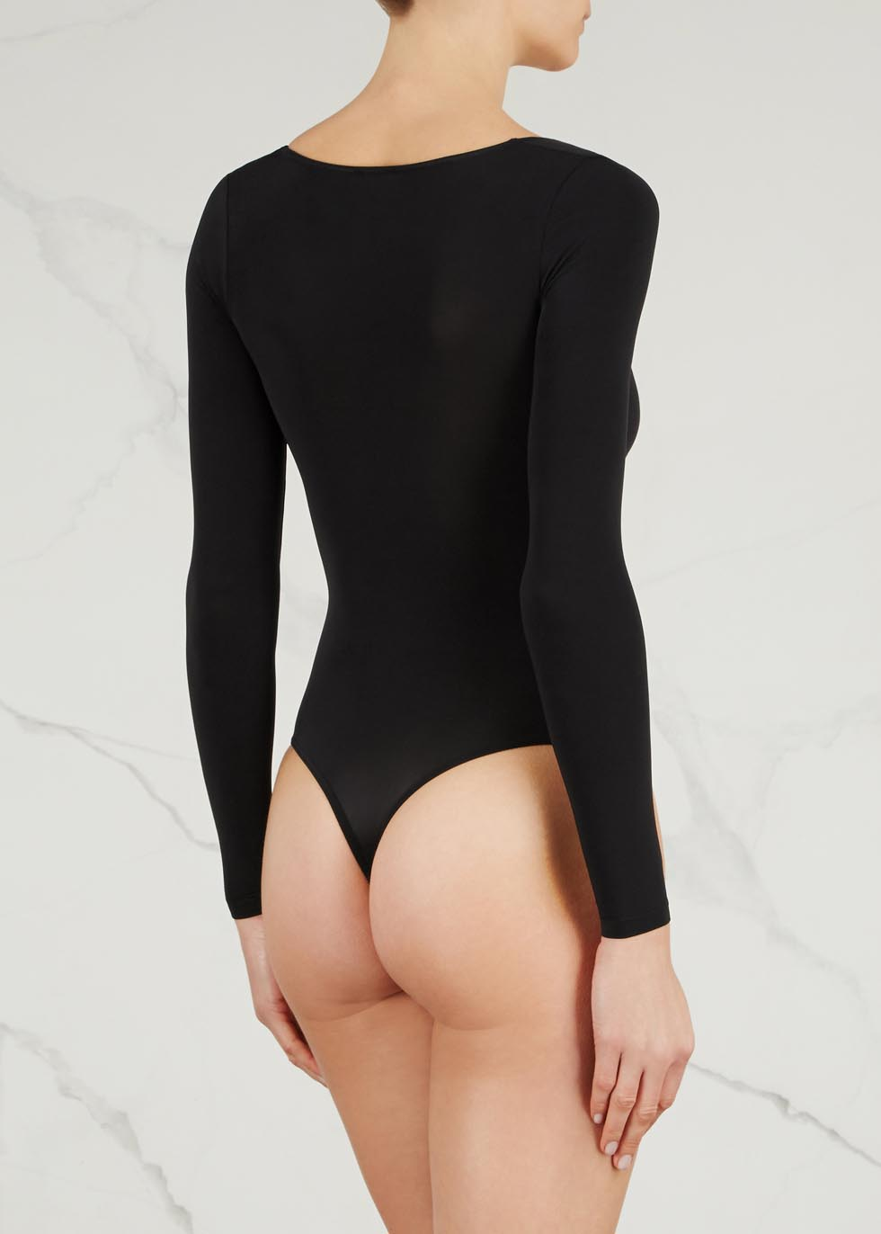 Buenos Aires black jersey bodysuit - Wolford