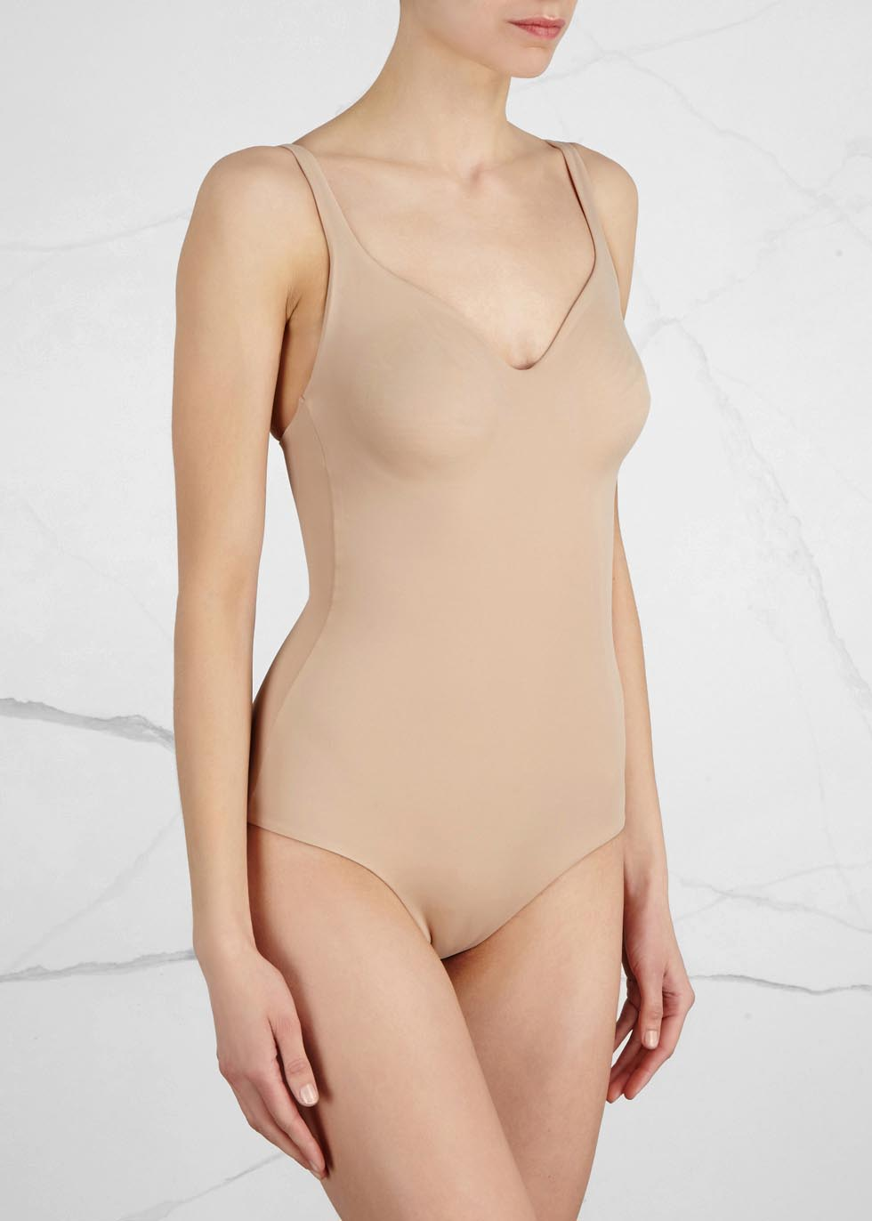 Mat De Luxe almond forming bodysuit - Wolford