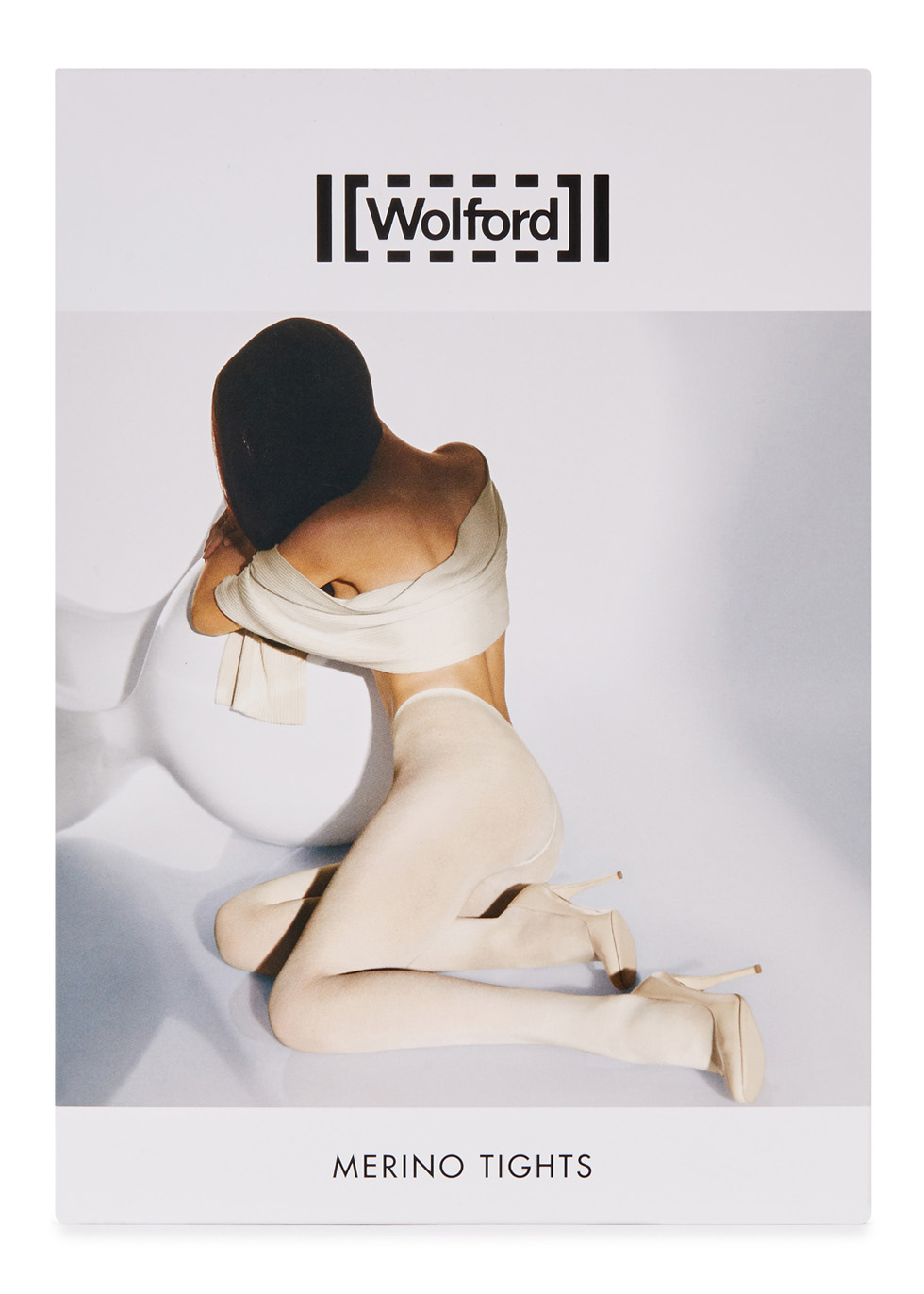 Black wool blend tights - Wolford