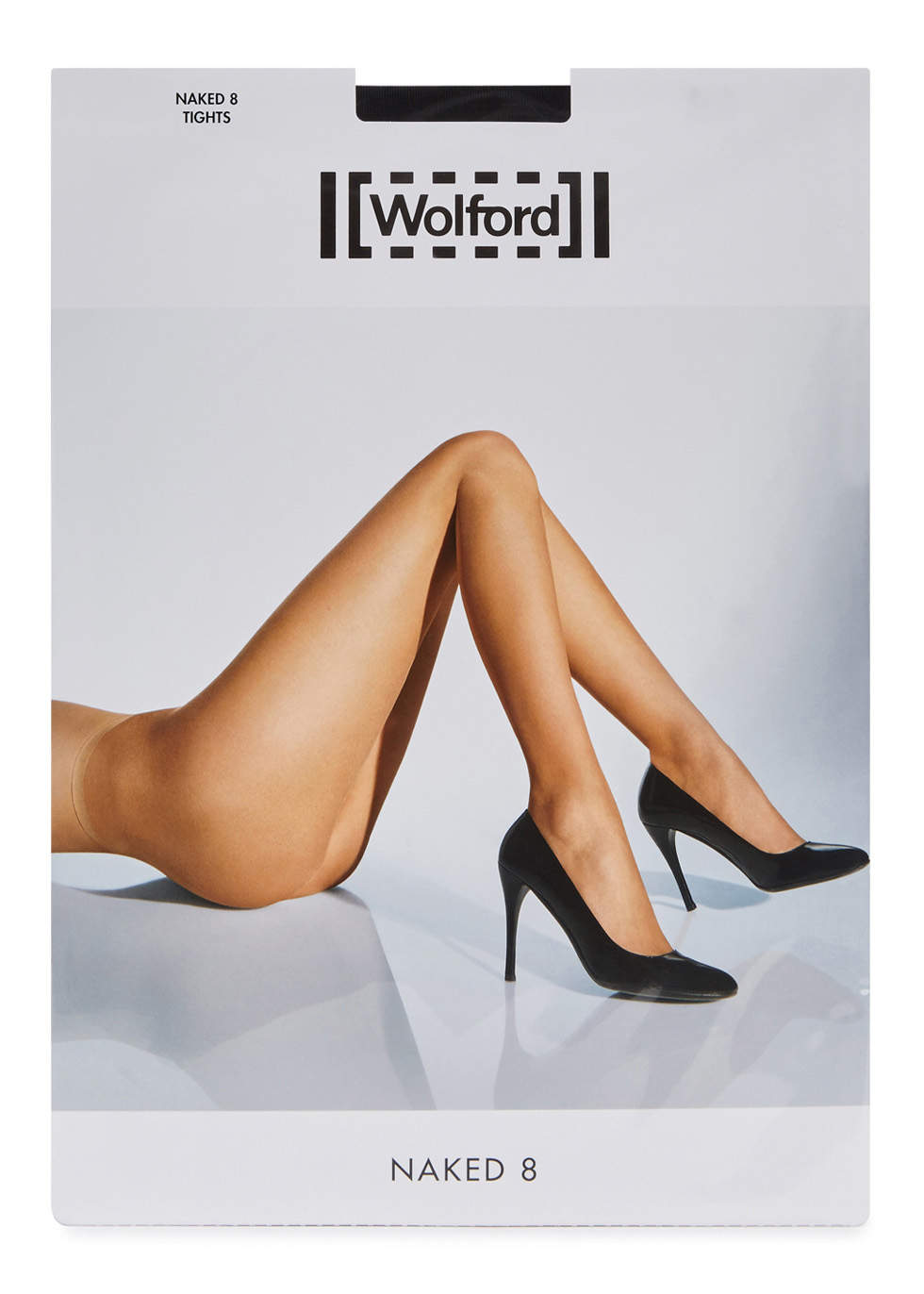 Naked black 8 denier tights - Wolford