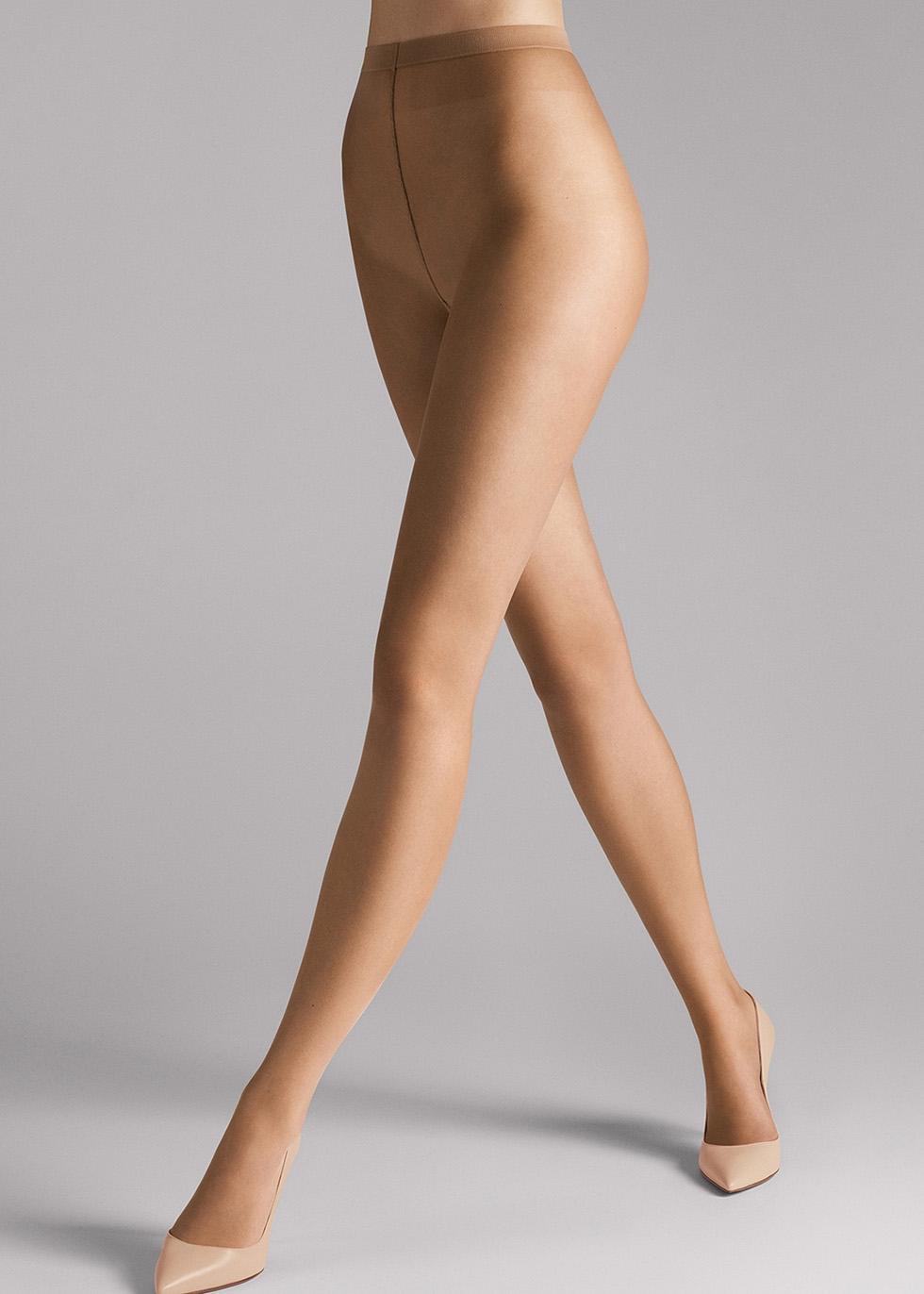 Naked 8 denier caramel tights - Wolford