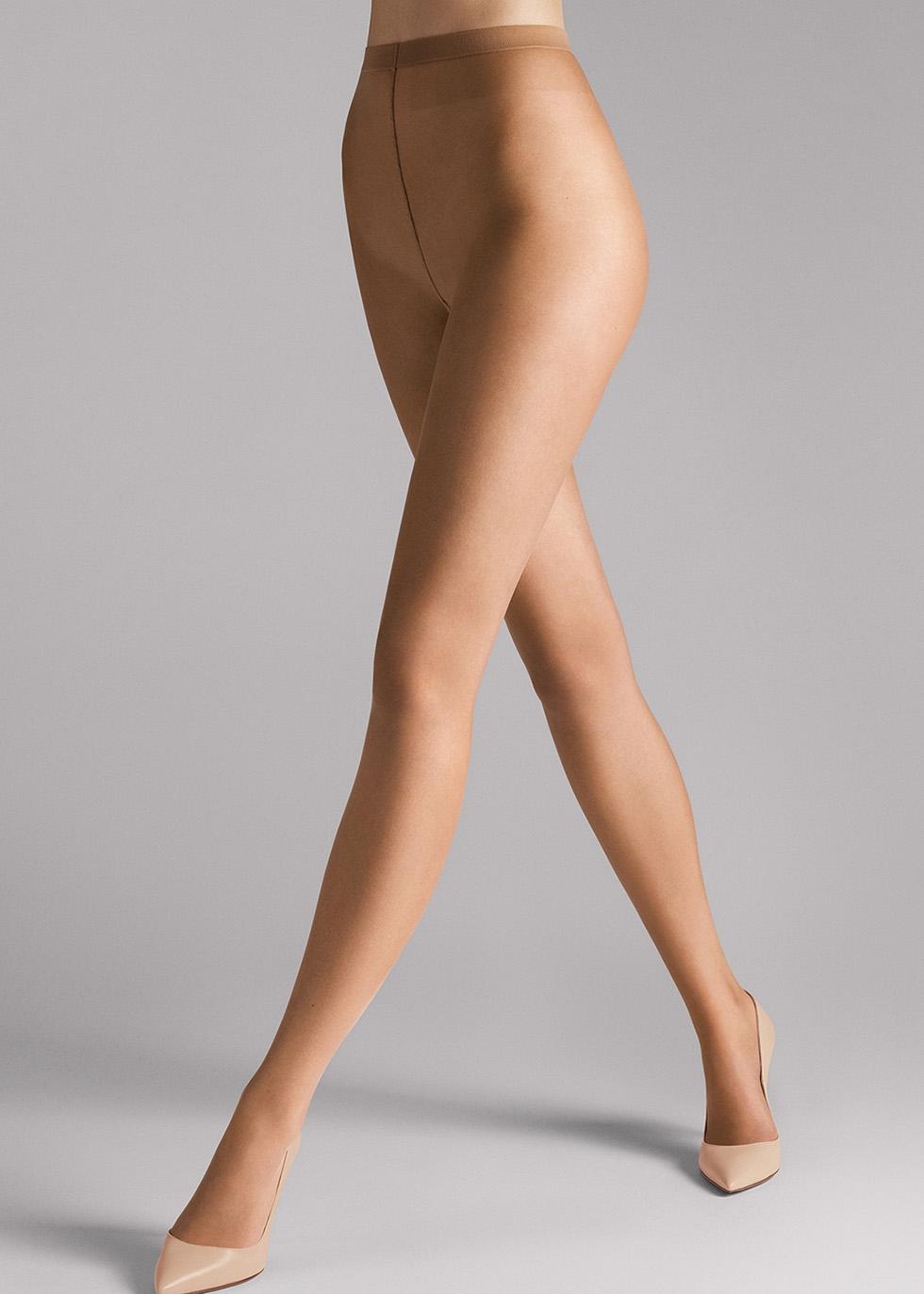 Naked honey 8 denier tights - Wolford