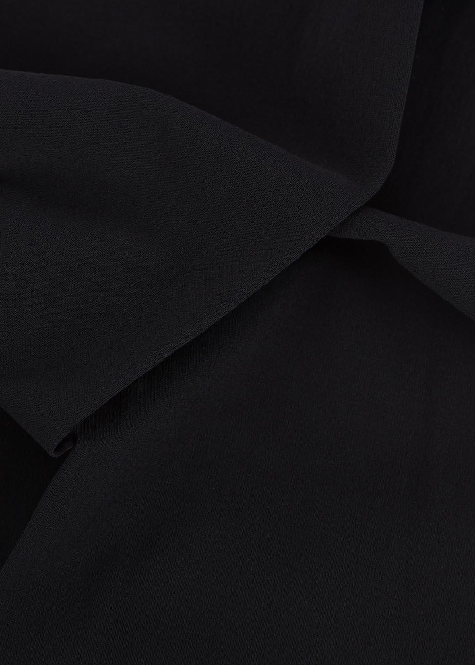 Individual black control-top 10 denier tights - Wolford