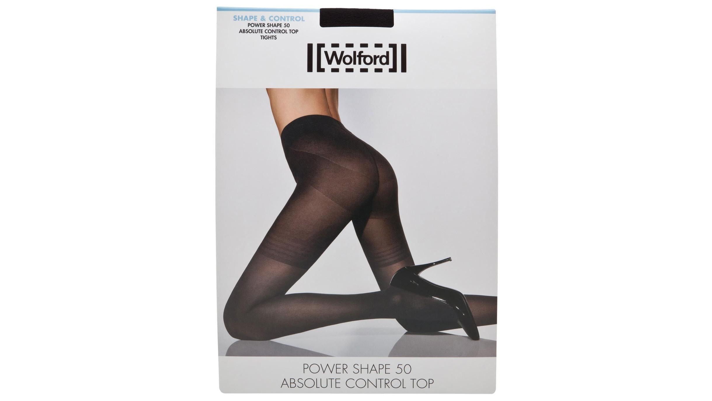 97215d7747aac Wolford Black power shape tights - Harvey Nichols