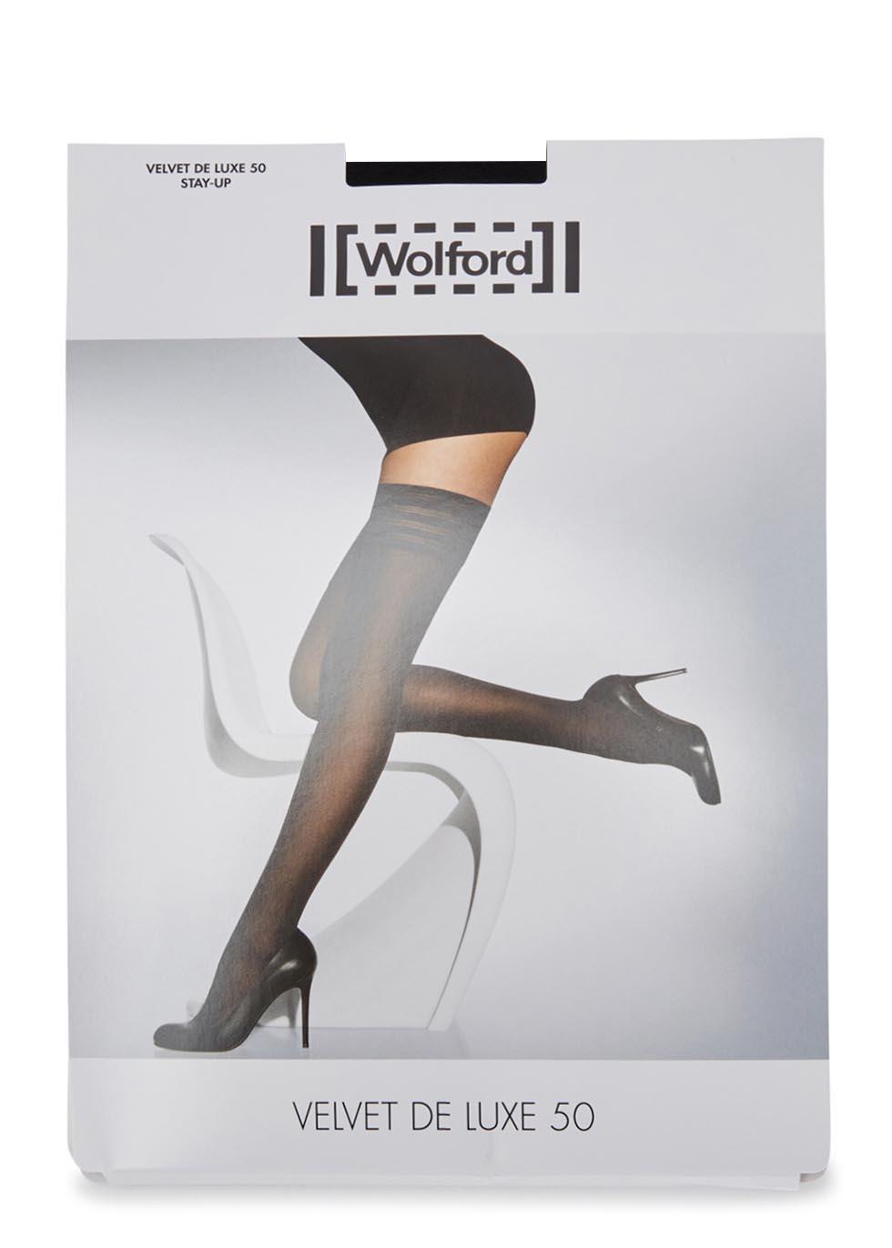 Velvet De Luxe black 50 denier hold-ups