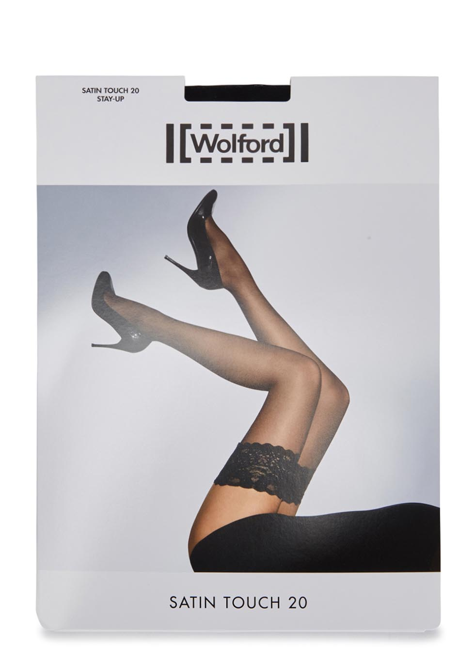Satin Touch black 20 denier hold-ups - Wolford