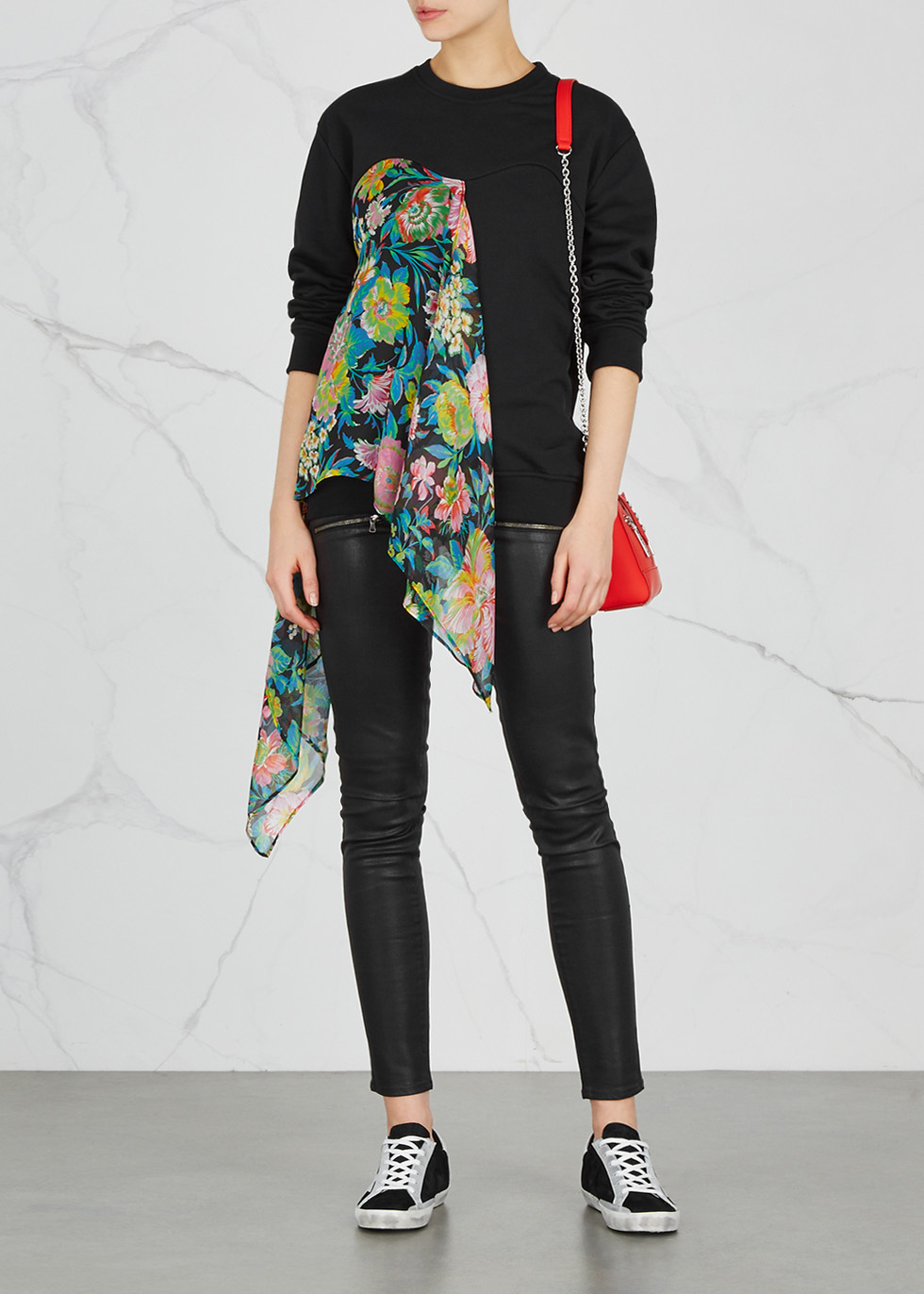 Edgemont zipped skinny coated jeans - Paige