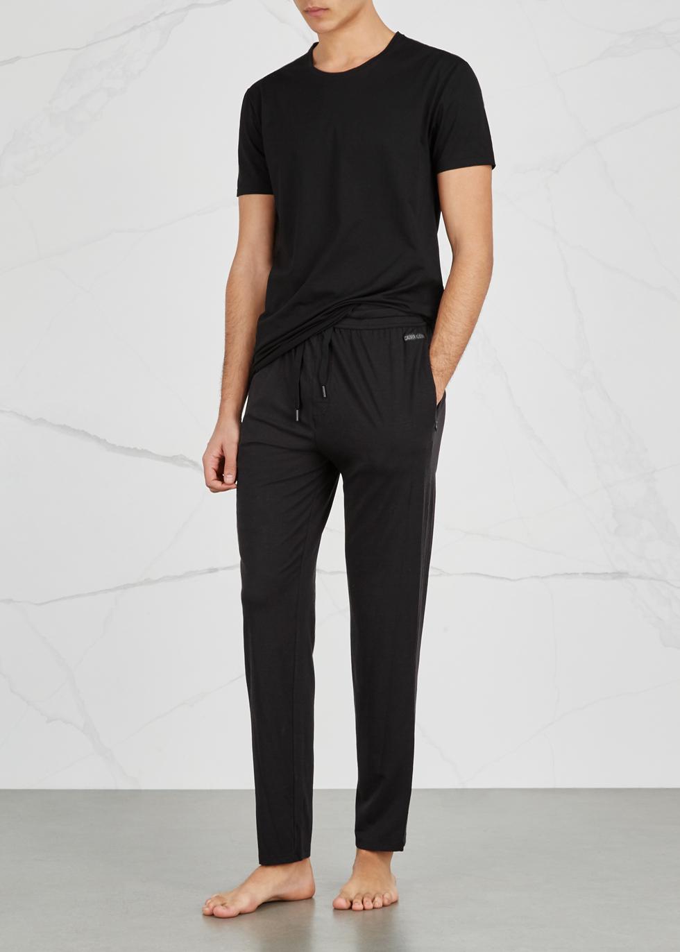 Jack black Pima stretch-cotton T-shirt - Derek Rose