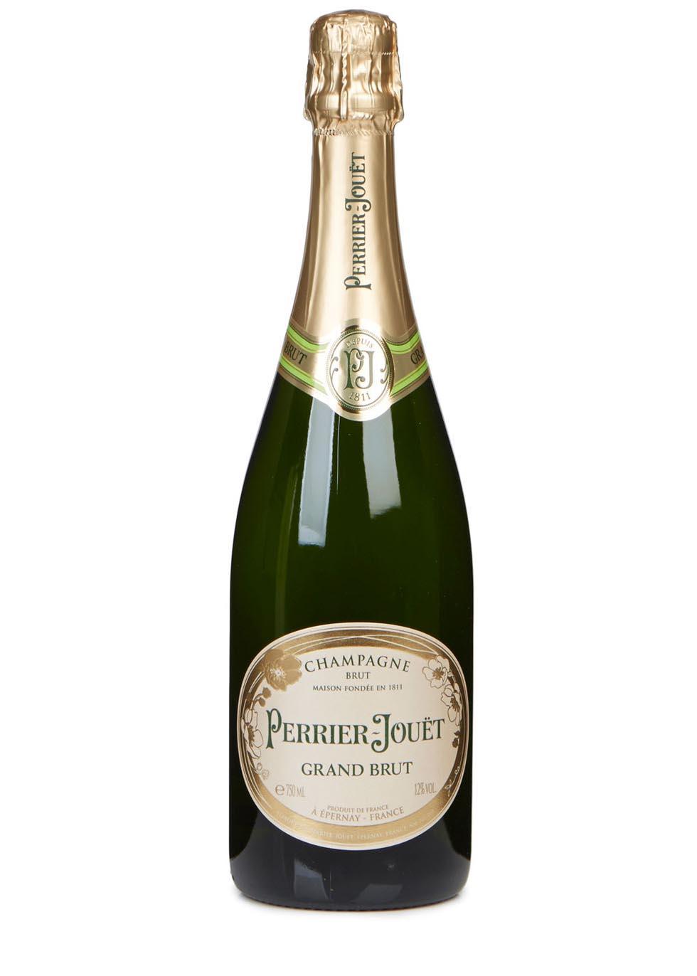 Grand Brut Champagne 2 Flute Gift Set - Perrier-Jouët