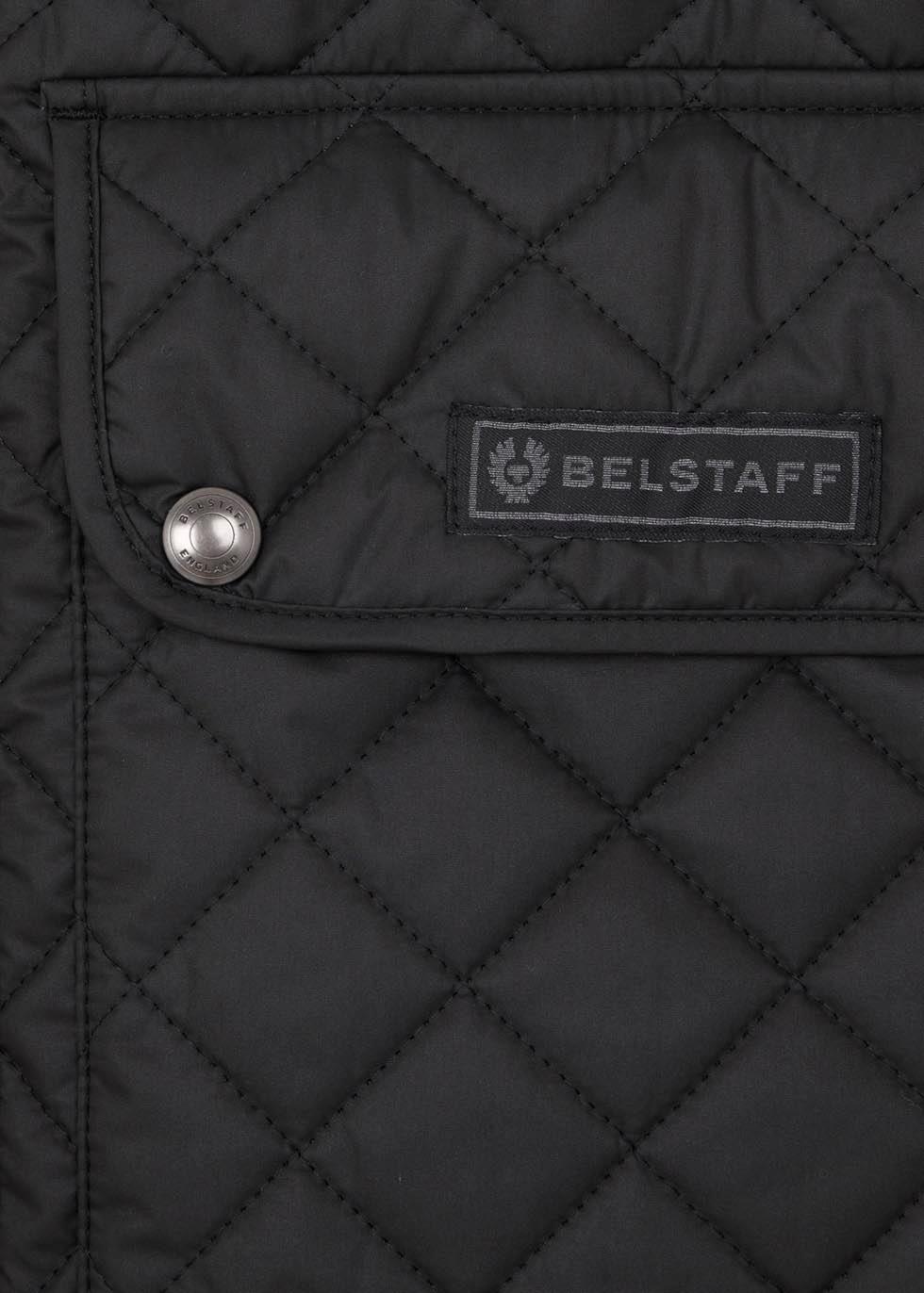 Black quilted shell gilet - Belstaff