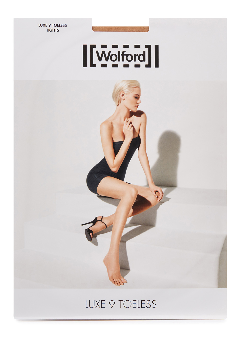 Luxe gobi 9 denier toeless tights - Wolford