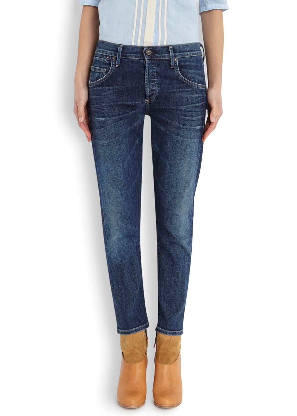Emerson blue boyfriend fit jeans - Citizens of Humanity