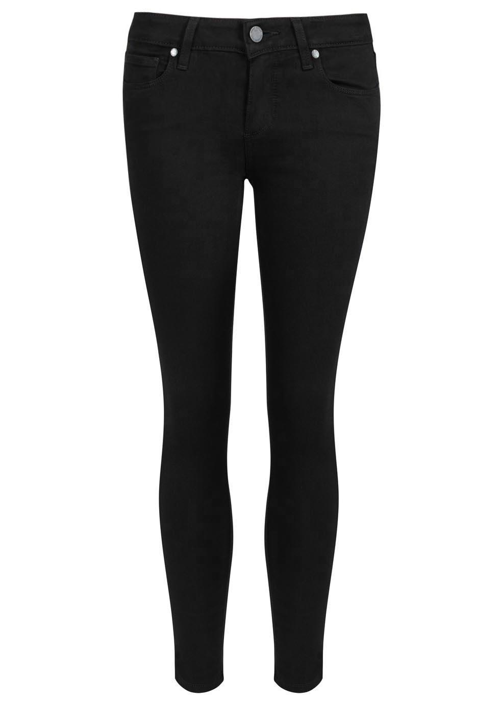 Verdugo Transcend black skinny jeans