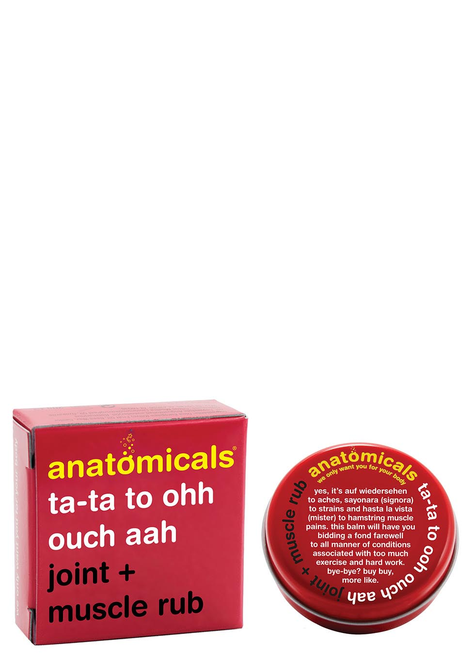 Ta-Ta To Ooh Ouch Aah Joint & Muscle Rub 20g