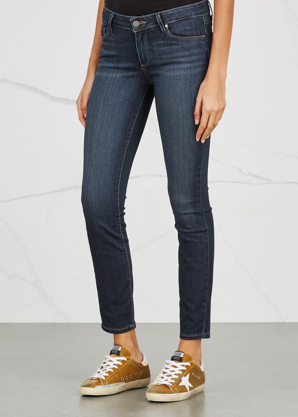 Verdugo Transcend dark blue skinny jeans - Paige