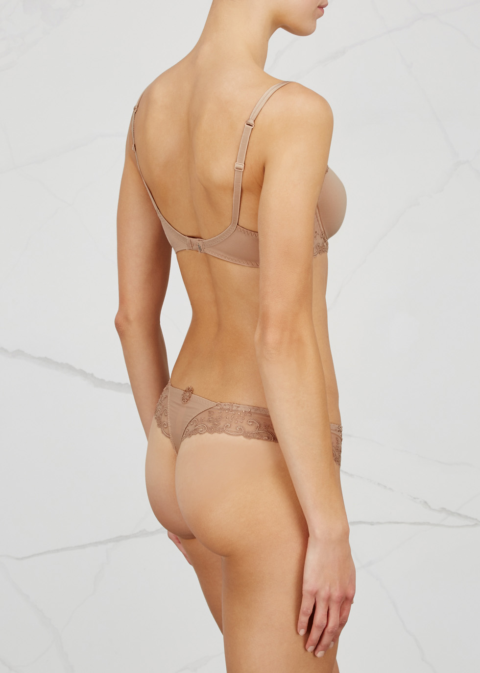 Delice embroidered thong - Simone Pérèle