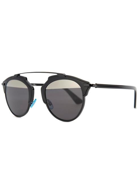aaafeaa865 Dior Dior So Real clubmaster-style sunglasses - Harvey Nichols