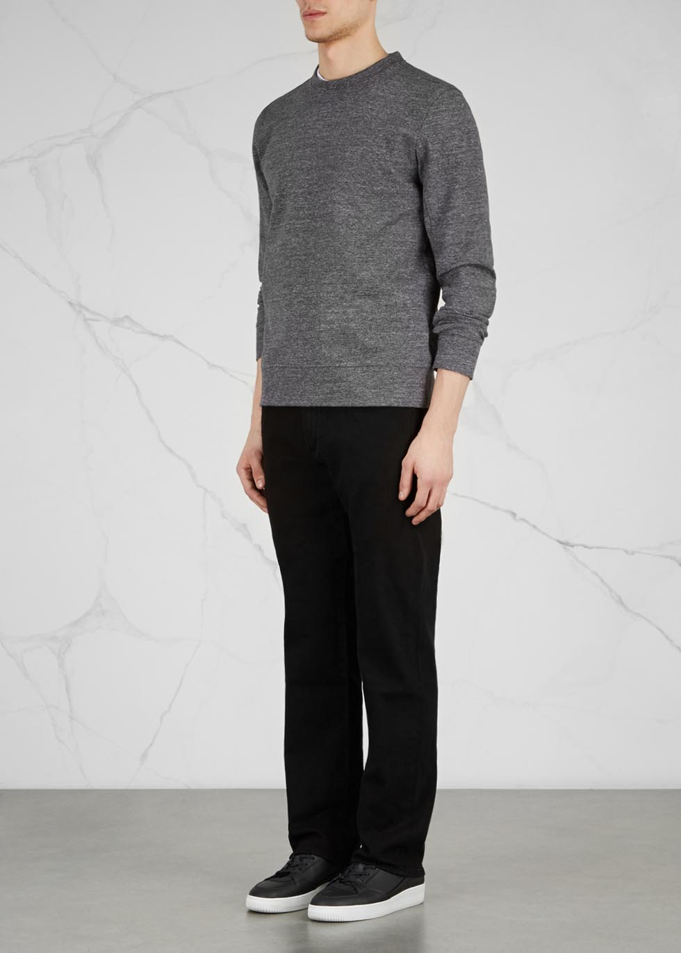 Sid black straight-leg jeans - Citizens of Humanity