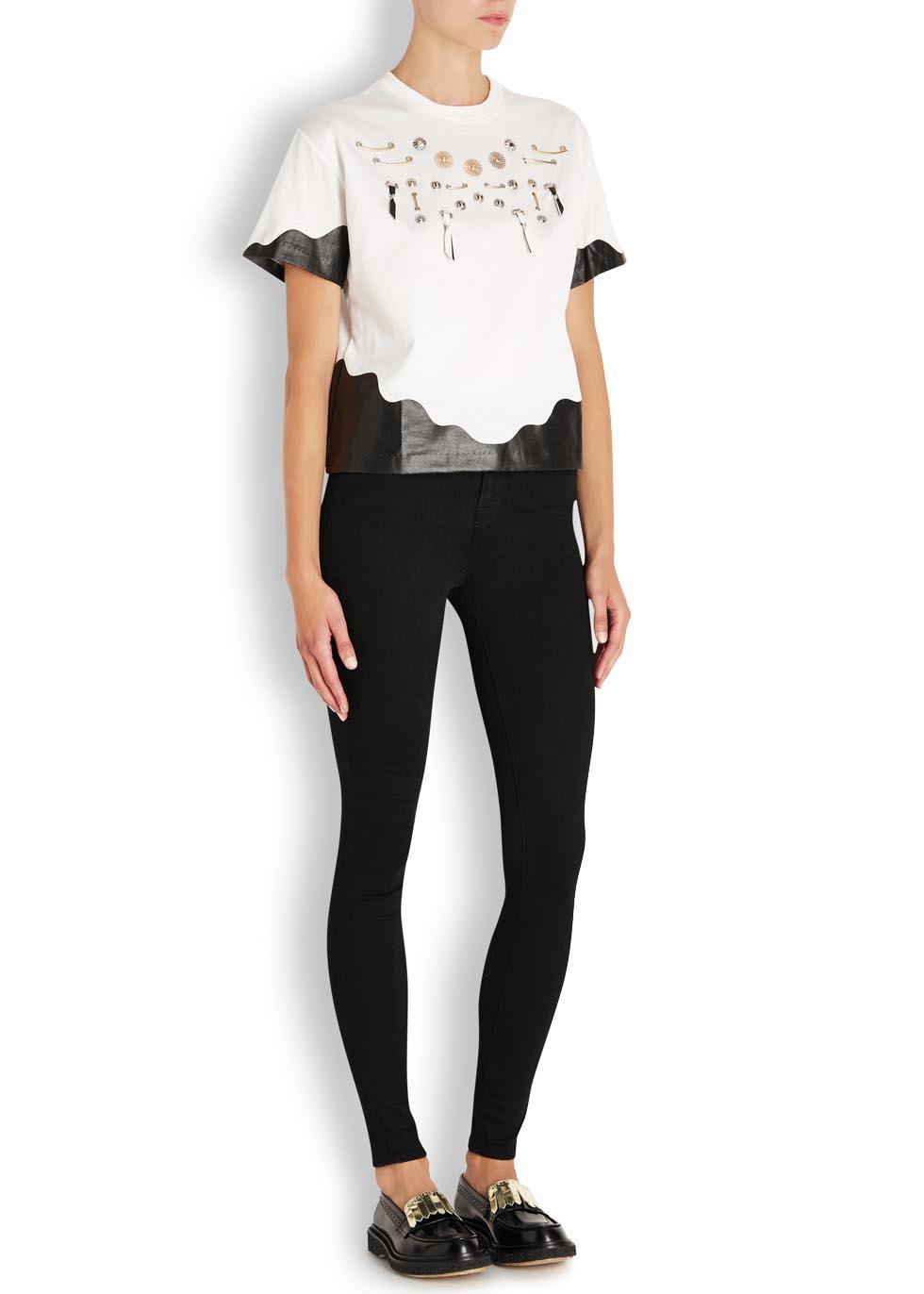 Maria black high-rise skinny jeans - J Brand
