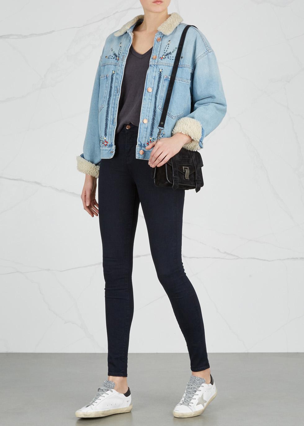 Maria indigo high-rise skinny jeans - J Brand