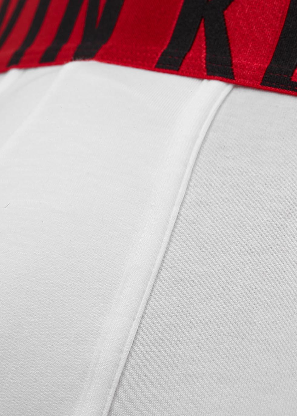 White stretch cotton boxer briefs - Calvin Klein