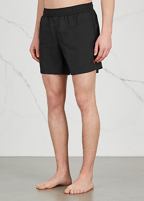 071a545ad8 Polo Ralph Lauren Hawaiian black swim shorts - Harvey Nichols