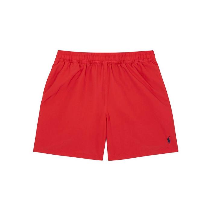 Polo Ralph Lauren Hawaiian Red Swim Shorts