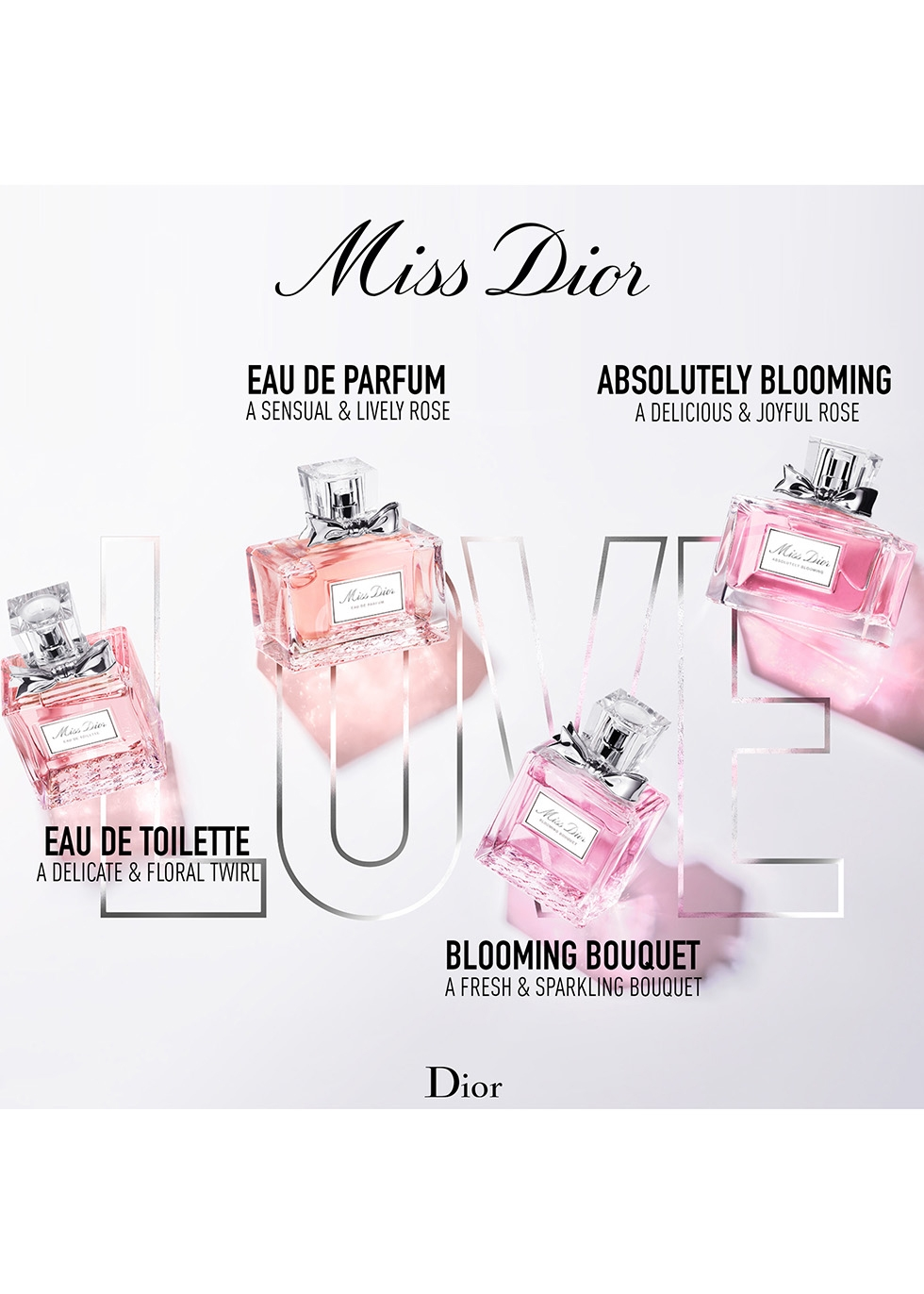 Miss Dior Blooming Bouquet Eau de Toilette 50ml - Dior