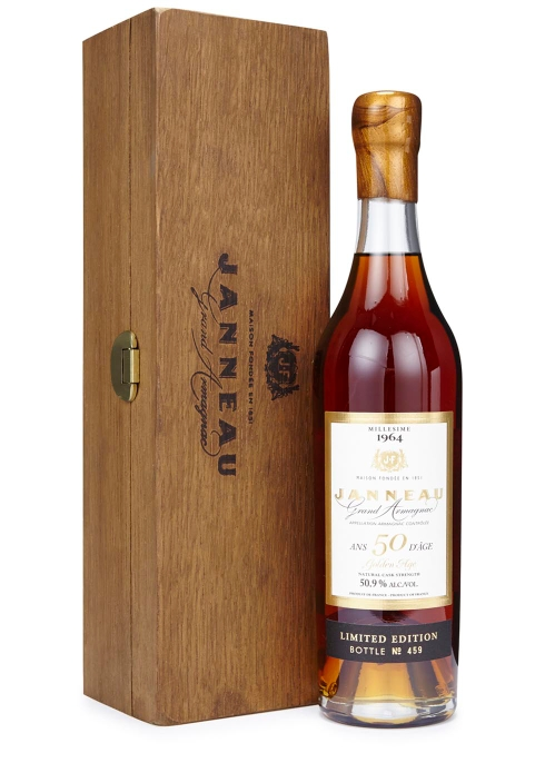 50 Year Old The Golden Age 1964 Armagnac