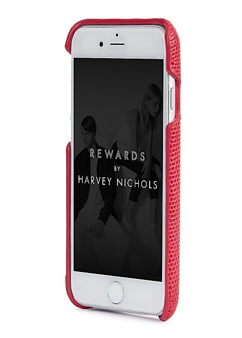new style 7860f 59633 The Case Factory Python-effect leather iPhone 6/6S case - Harvey Nichols