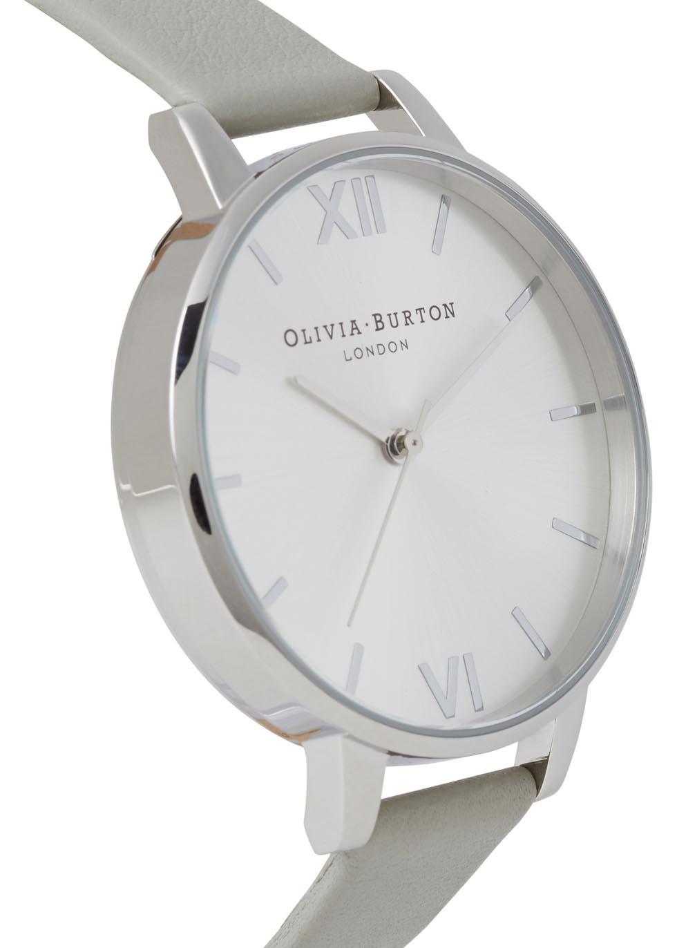 Big Dial silver-plated watch - Olivia Burton