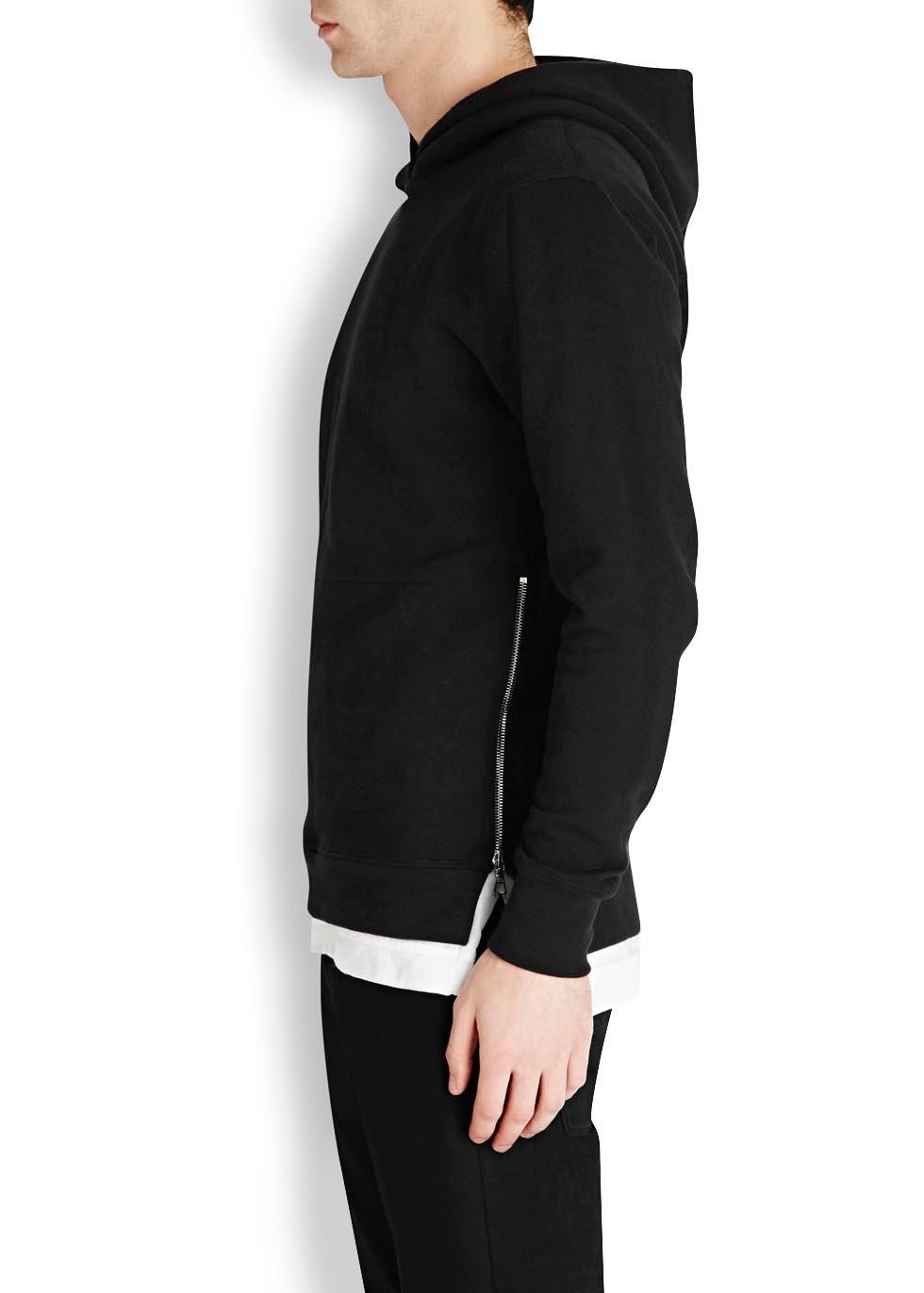Villain hooded cotton sweatshirt - John Elliott