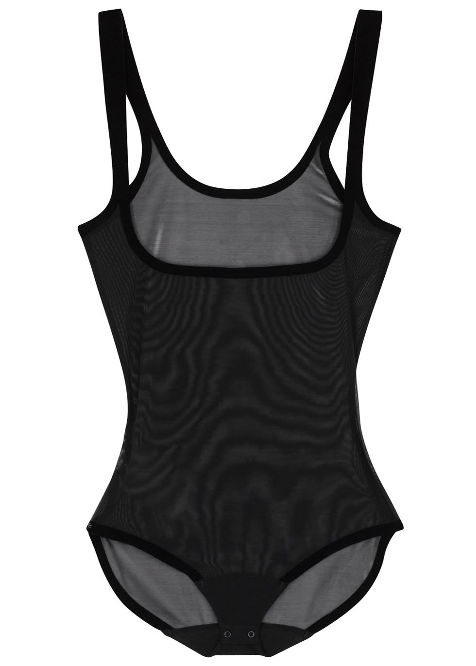 Black tulle control body - Wolford