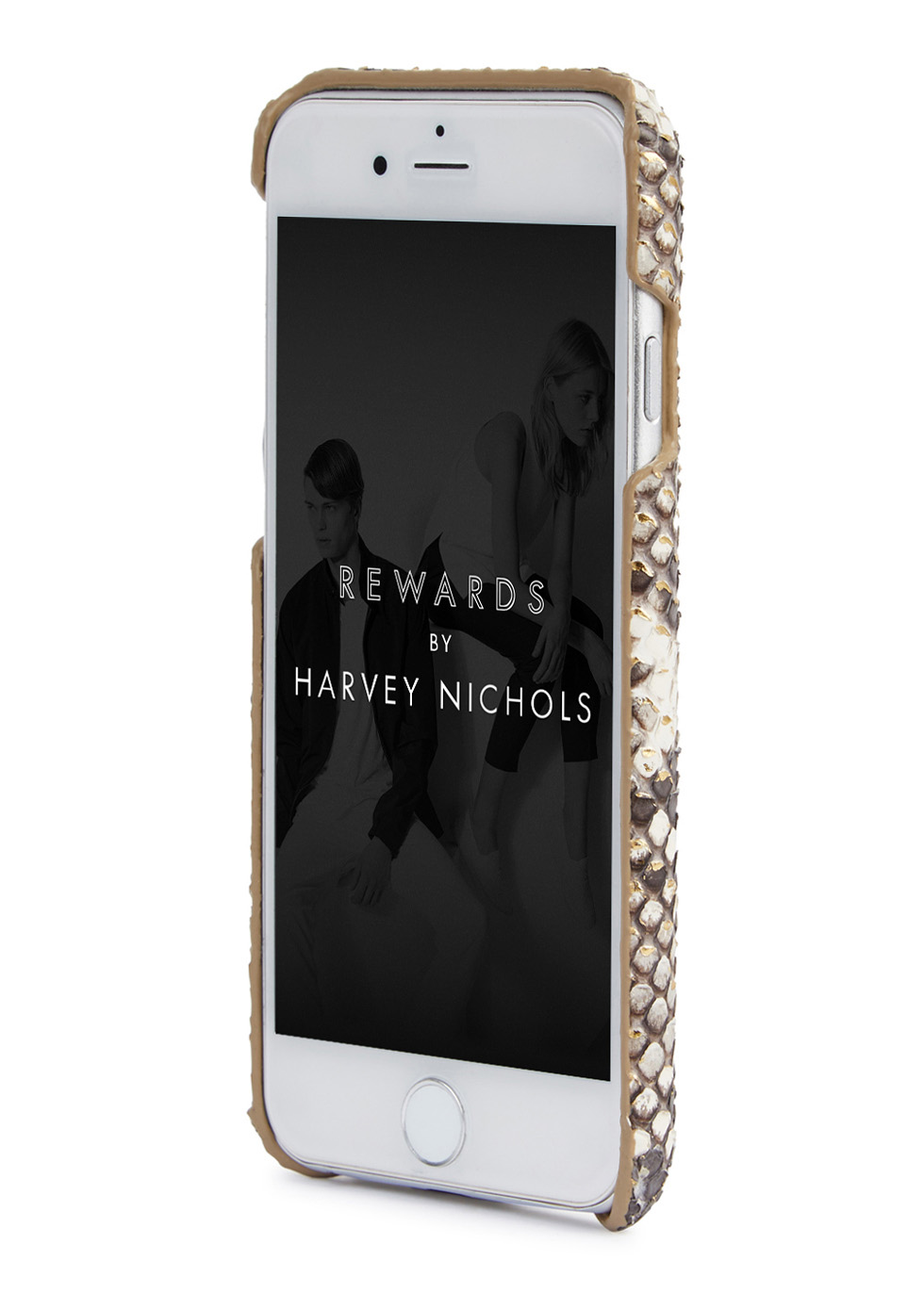 Grey flecked python iPhone6/6S case - The Case Factory