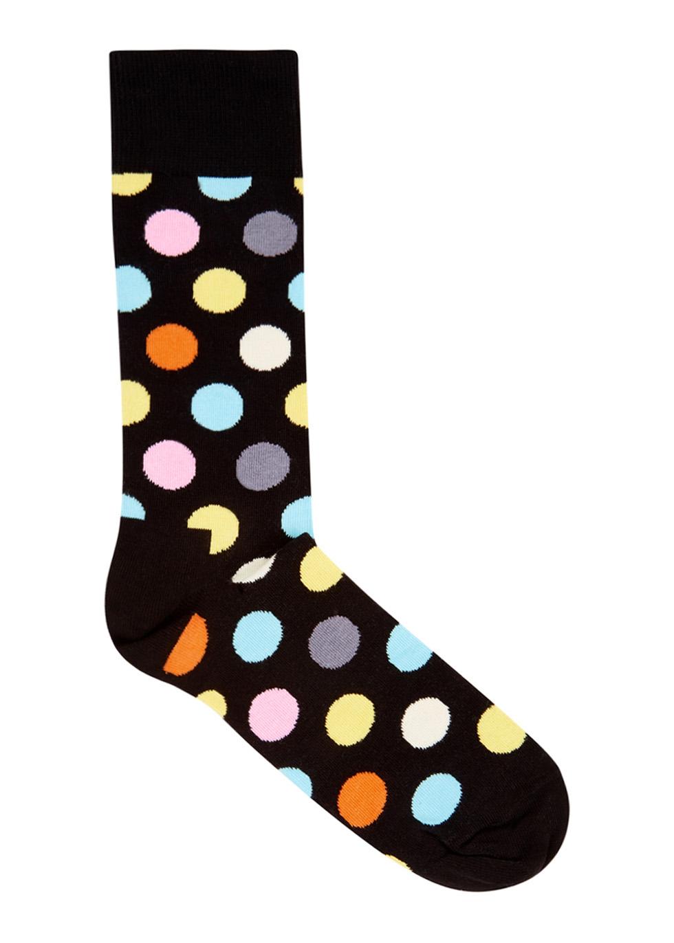 Big Dot cotton blend socks - Happy Socks