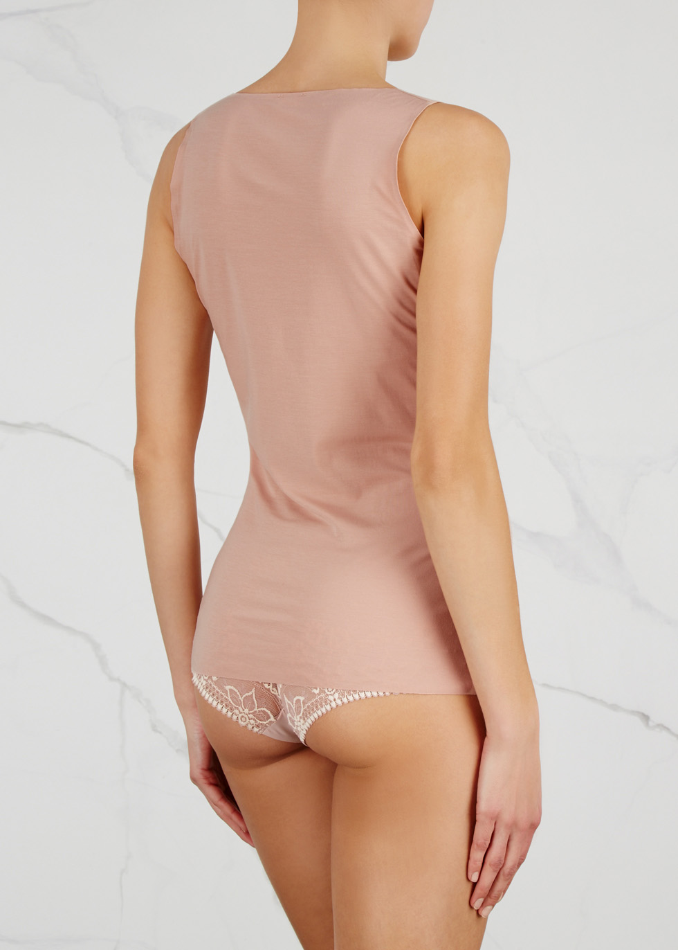 Pure seamless jersey top - Wolford