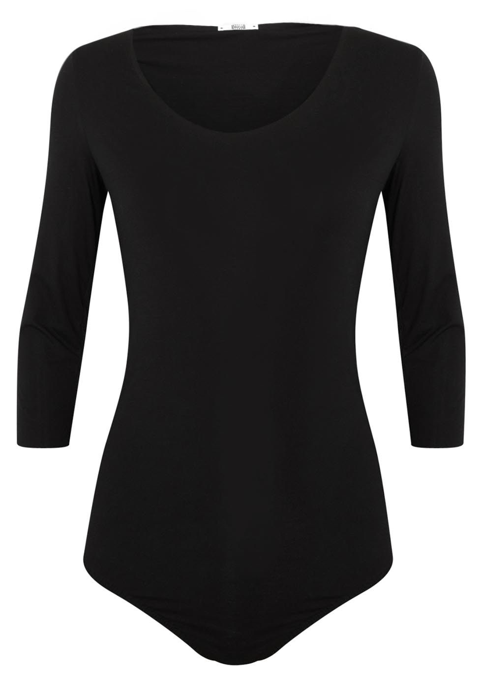 Pure black jersey bodysuit - Wolford