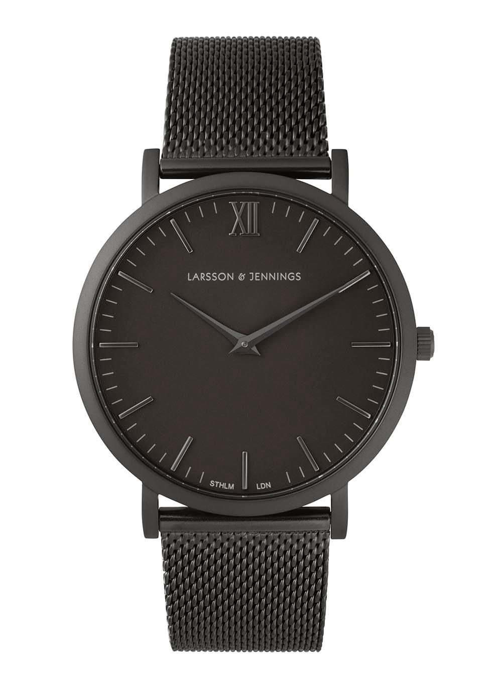 Chain Metal Black Brass Watch